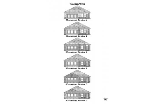 RC Armstrong Elevations TX
