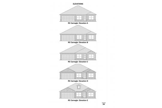 RC Carnegie Elevations