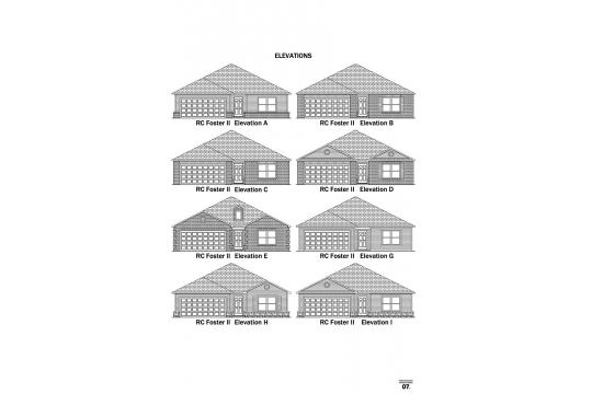 RC Foster II Elevations