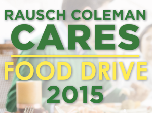 Rausch Coleman Homes Hosts Food Drive For Local Community